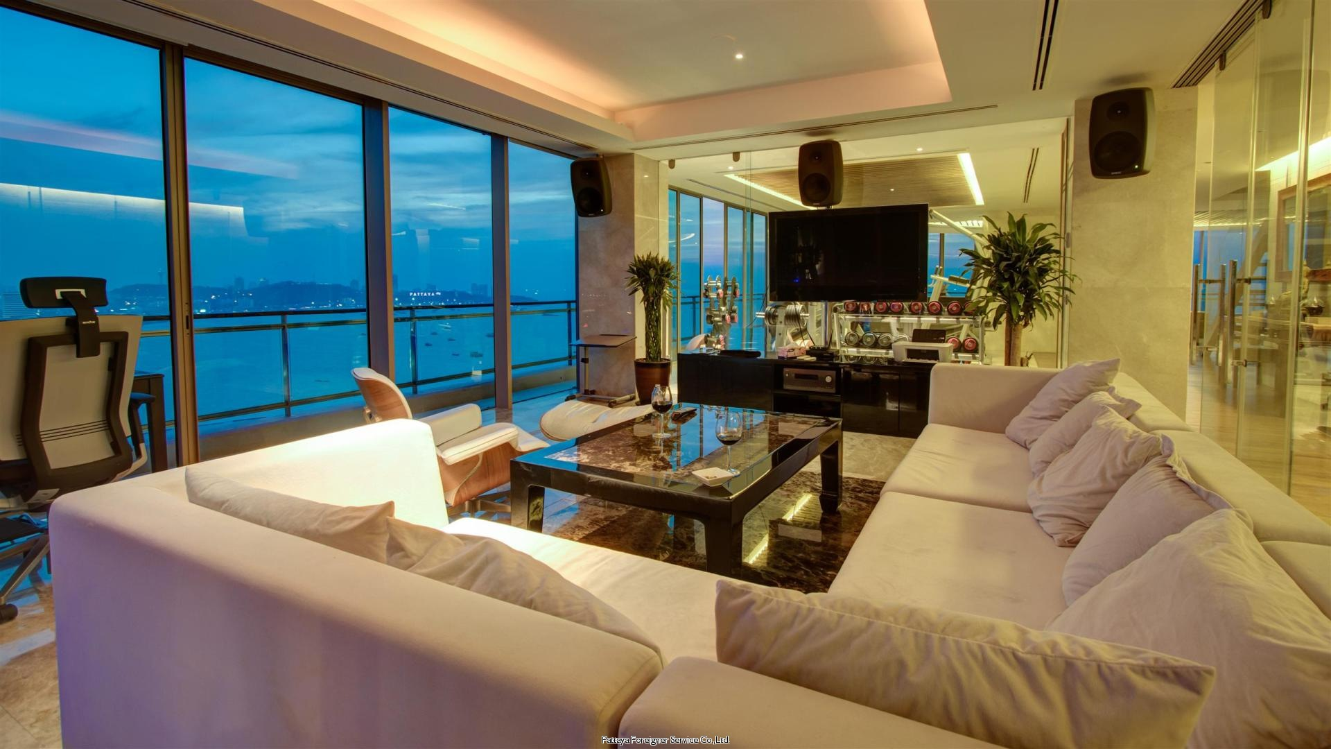 pic-3-Pattaya Foreigner Service Co.Ltd. the most amazing penthouse in pattaya Condominiums for sale in North Pattaya Pattaya