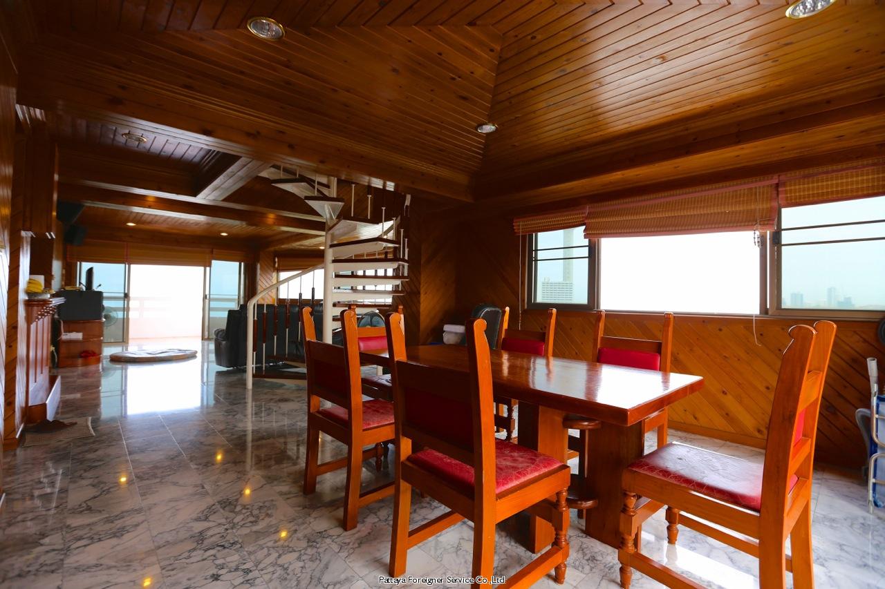 pic-7-Pattaya Foreigner Service Co.Ltd. beachfront penthouse in jomtien Condominiums for sale in Jomtien Pattaya