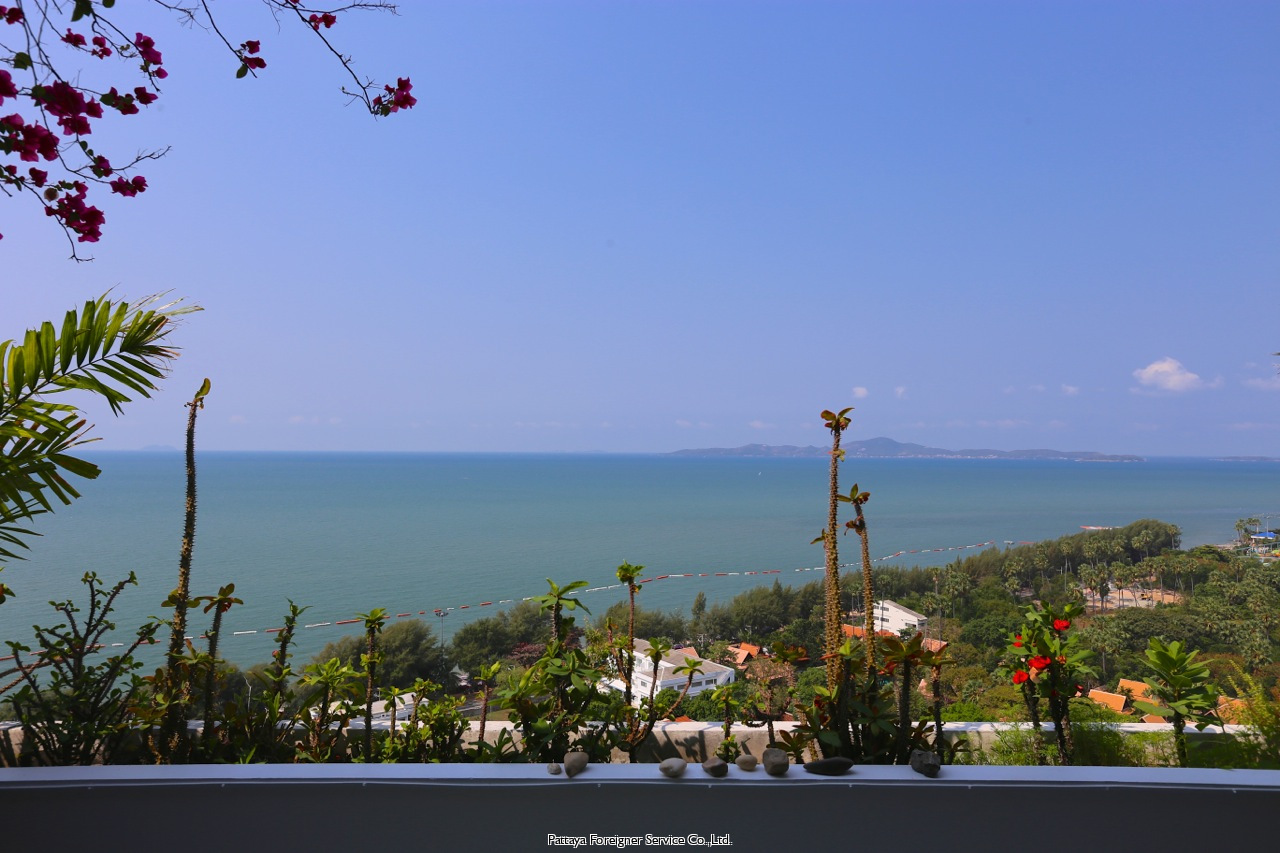 best jomtien location with amazing sea view and full privacy Condominiums till salu i Jomtien Pattaya