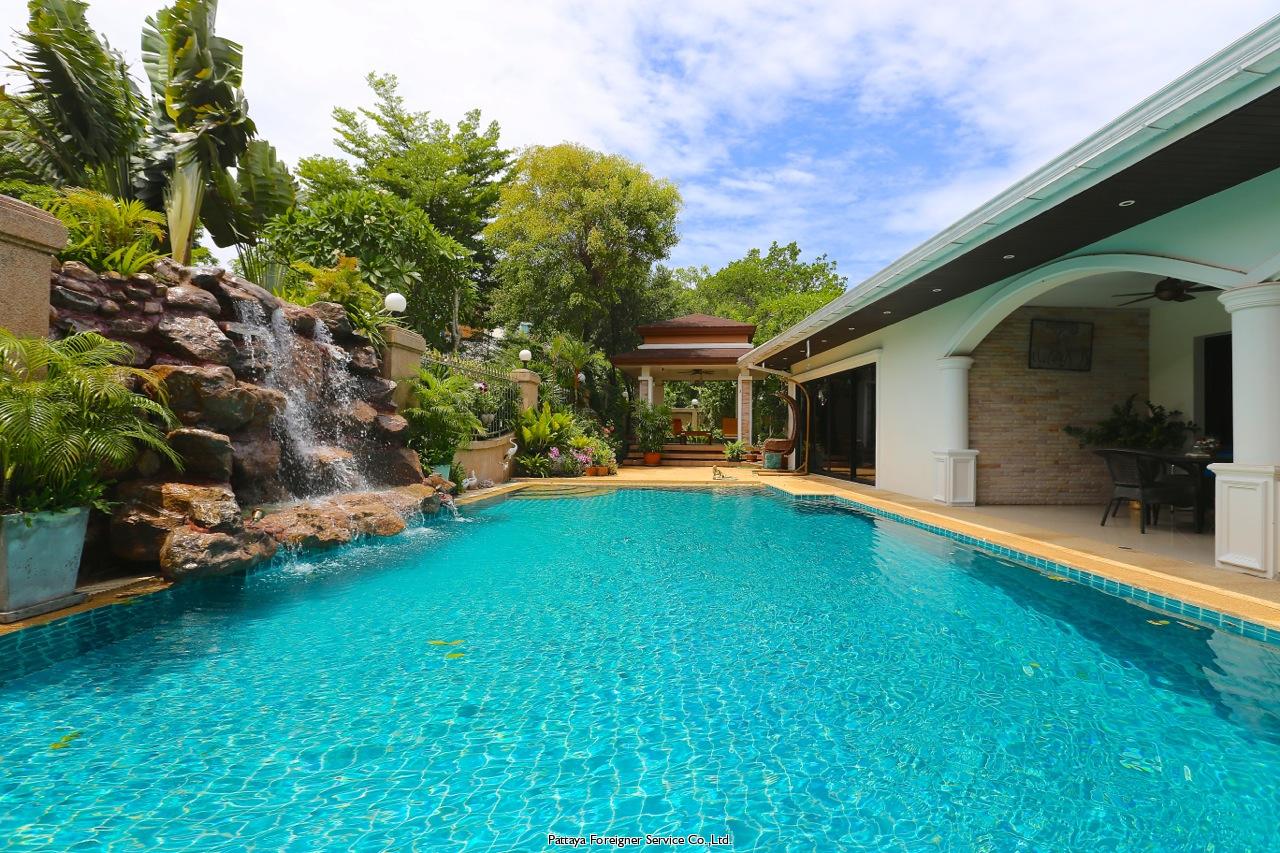 pattaya house huis te huur in Jomtien