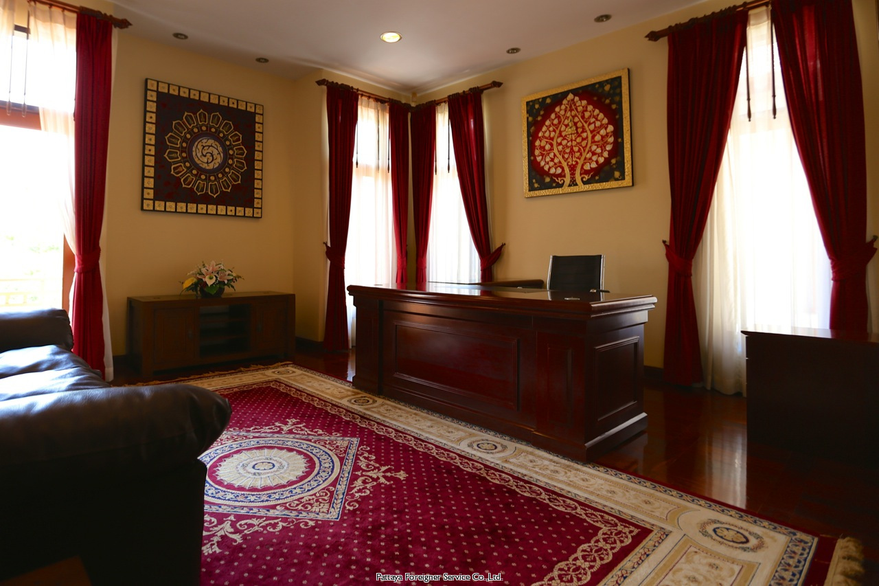 pattaya house maison pour la vente dans les Na Jomtien