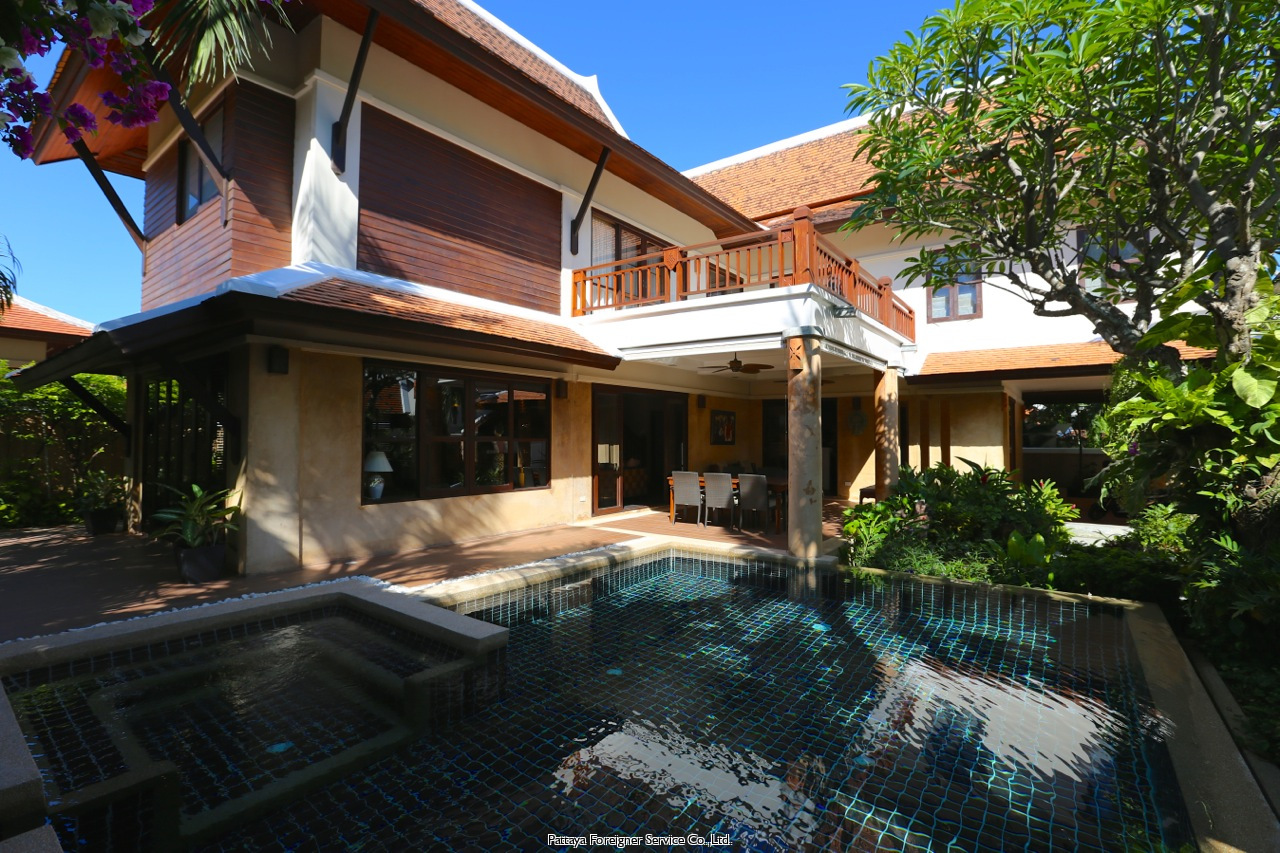 pattaya house casa in affitto in Jomtien