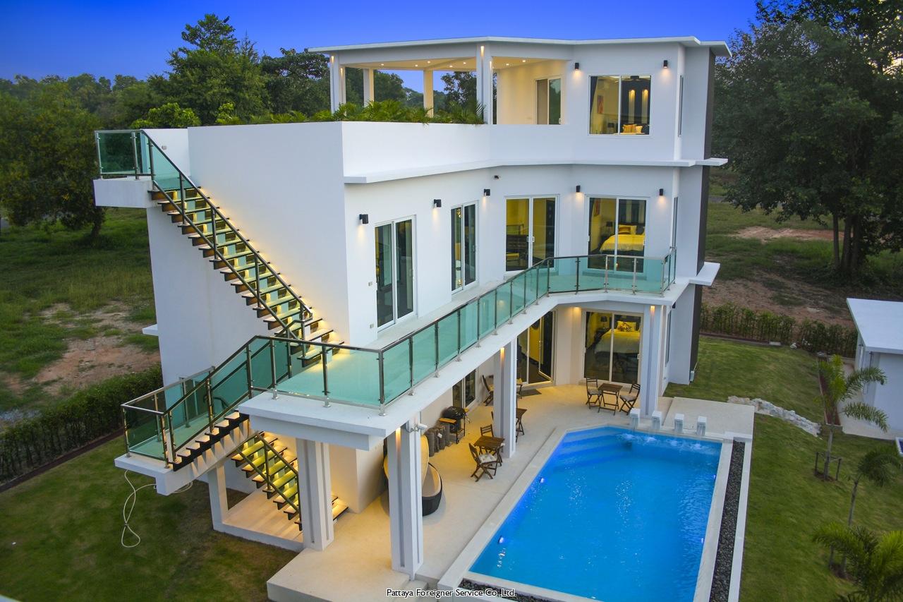 pattaya house 家 出售 在 班Amphur